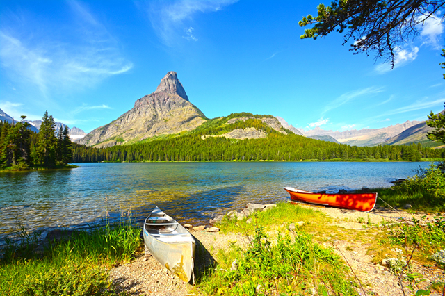 Glacier National Park Montana Hiking Trails